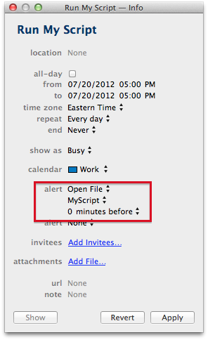 Mac Productivity: Scheduling AppleScripts | Peachpit