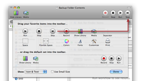 Troubleshooting Automator: Stepping Through a Workflow