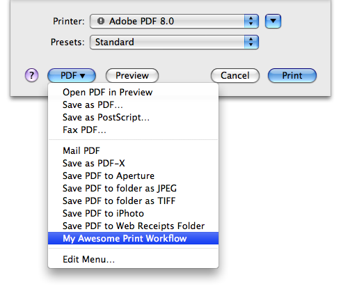 Using Automator: Print Workflows, Five Automator Tips in