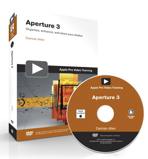 Apple Pro Video Training: Aperture 3, Online Video