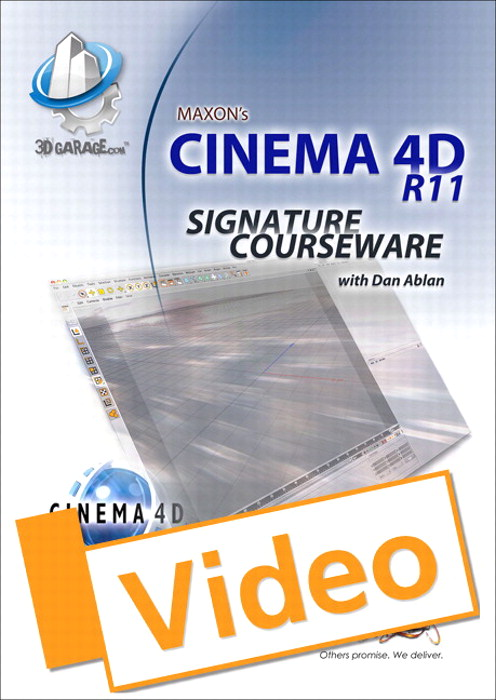 Cinema 4D Signature Courseware, Streaming Video