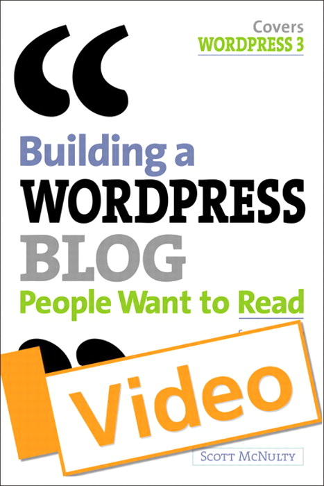 Building a WordPress Blog People Want to Read Video