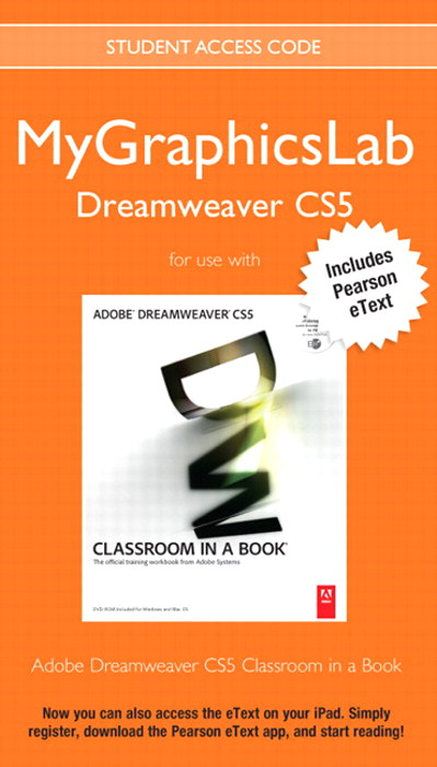 MyGraphicsLab Dreamweaver Course with Adobe Dreamweaver CS5 Classroom in a Book