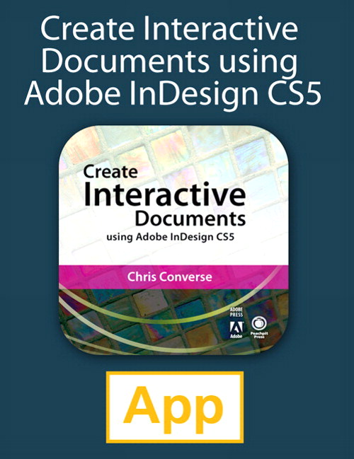 Create Interactive Documents using Adobe InDesign CS5, iPad App