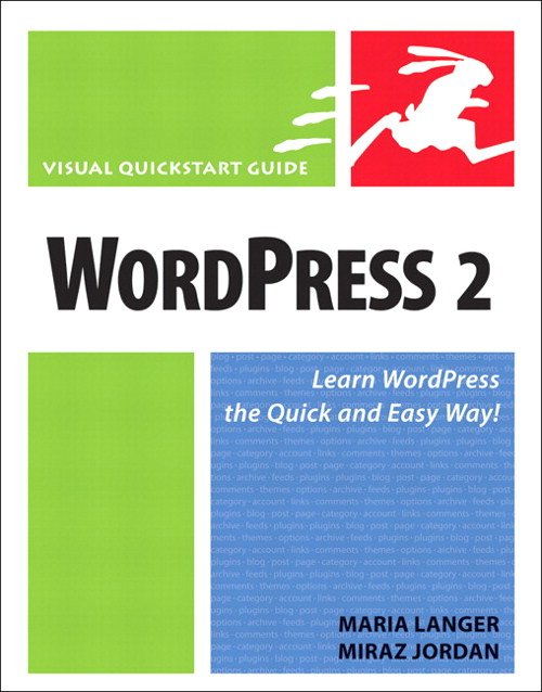 WordPress 2: Visual QuickStart Guide