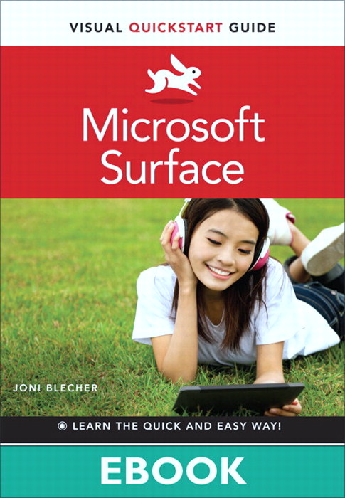 Microsoft Surface: Visual QuickStart Guide