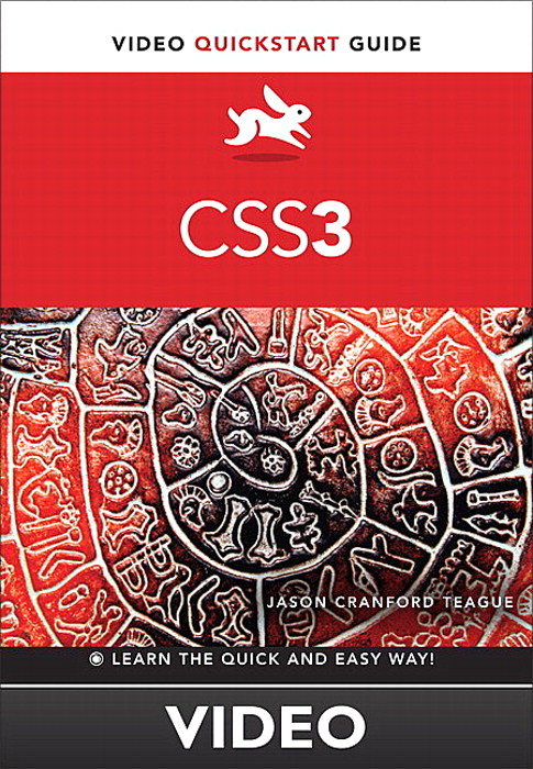Styling Borders and Backgrounds, CSS3: Video QuickStart