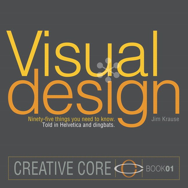Visual Design: Ninety-five things you need to know. Told in Helvetica and Dingbats.