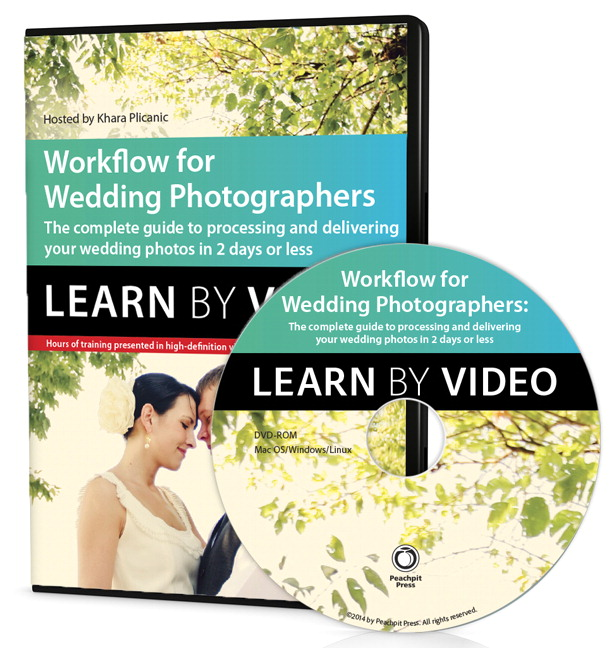 Workflow for Wedding Photographers: Learn by Video