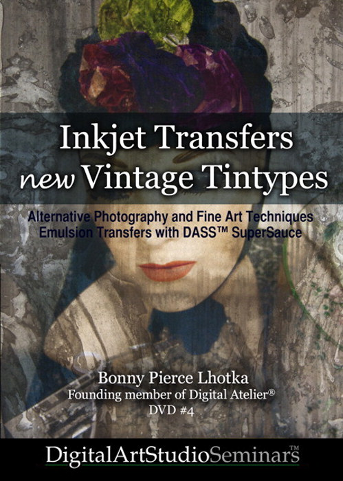 Inkjet Transfers, New Vintage Tintypes: Alternative Photography, Fine Art Techniques, Emulsion Transfers