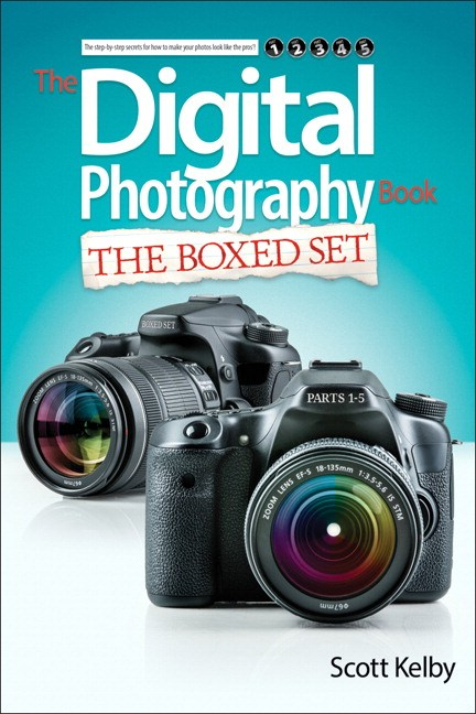 Scott Kelby's Digital Photography Boxed Set, Parts 1, 2, 3, 4, and 5
