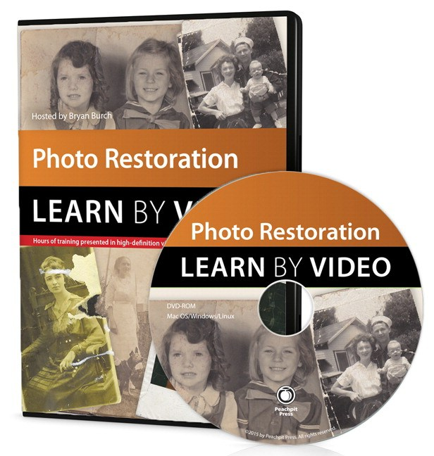 Photo Restoration Learn by Video
