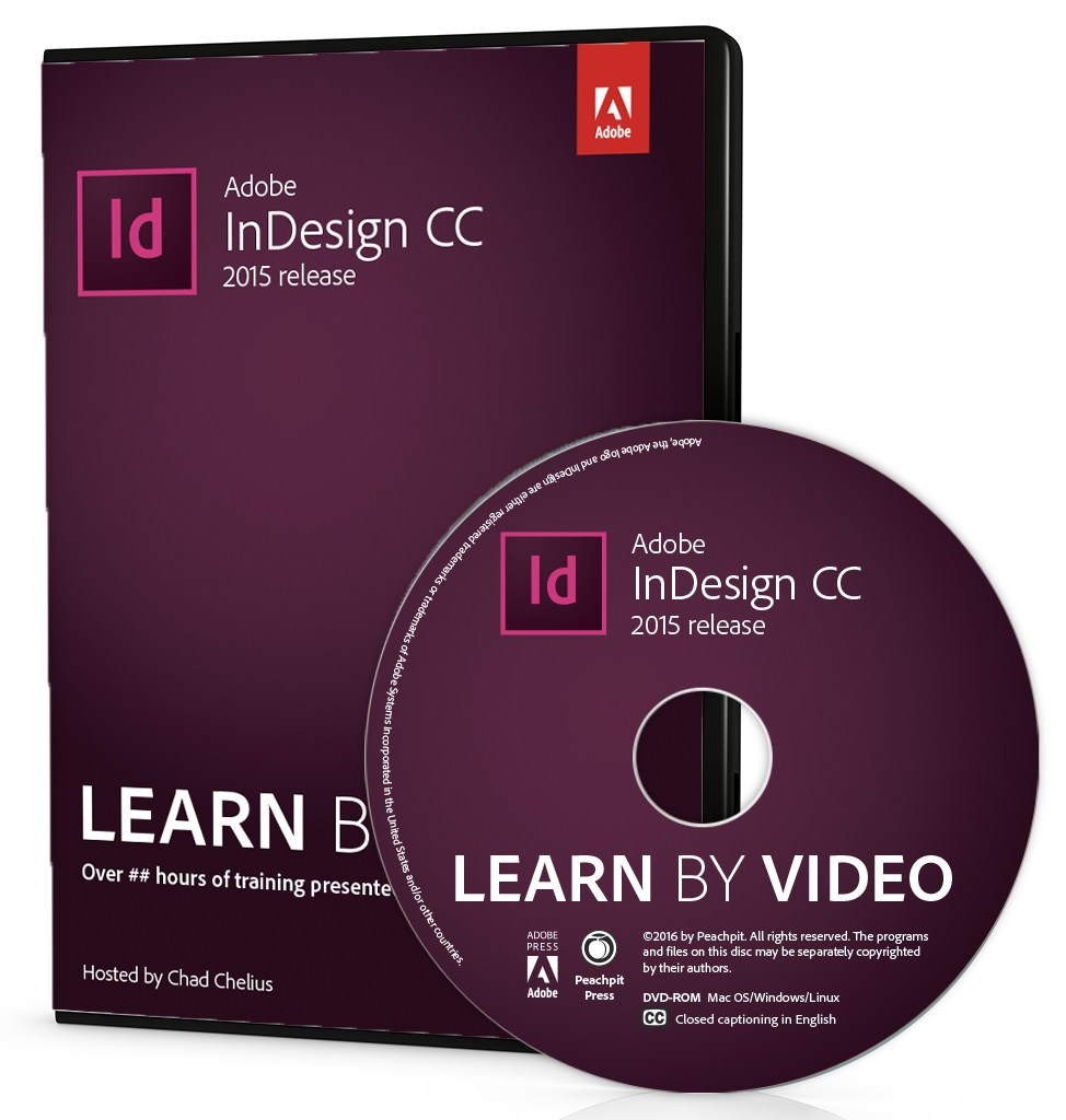Adobe InDesign CC Learn by Video (2015 release)