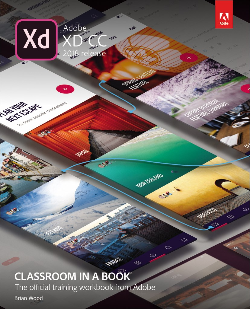 Adobe XD CC Classroom in a Book (2018 release)