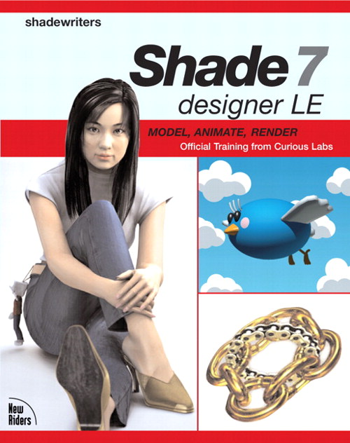 Shade 7 designer LE: Model, Animate, Render