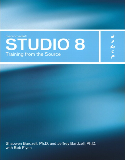 Macromedia Studio 8: Training from the Source