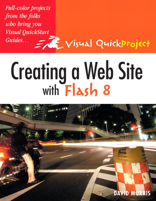 Creating a Web Site with Flash 8: Visual QuickProject Guide, Adobe Reader