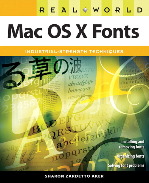 Real World Mac OS X Fonts