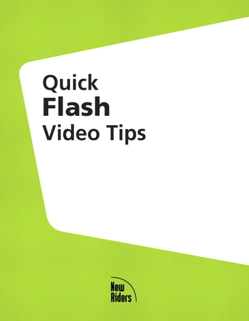 Quick Flash MX 2004 Video Tips