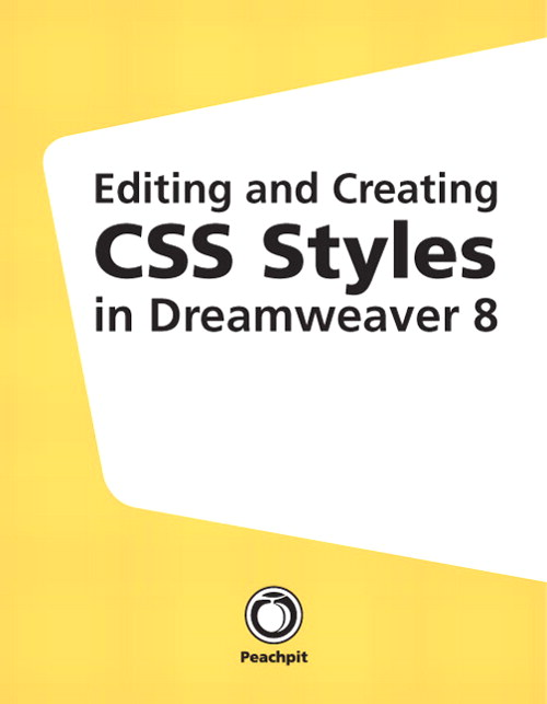 Editing and Creating CSS Styles in Dreamweaver 8