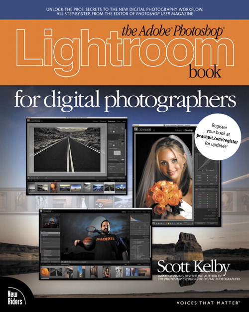 Adobe Photoshop Lightroom Book for Digital Photographers,The