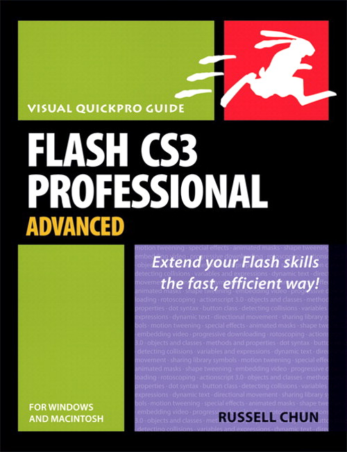 Flash CS3 Professional Advanced for Windows and Macintosh: Visual QuickPro Guide, Adobe Reader
