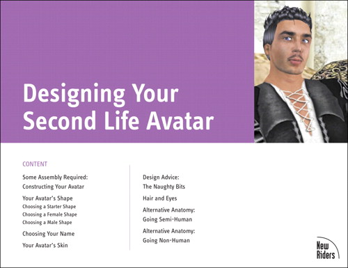Designing Your Second Life Avatar