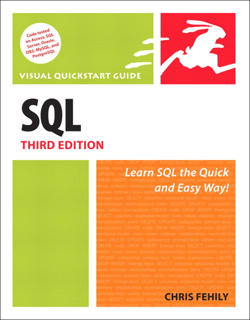 SQL: Visual QuickStart Guide, 3rd Edition | Peachpit