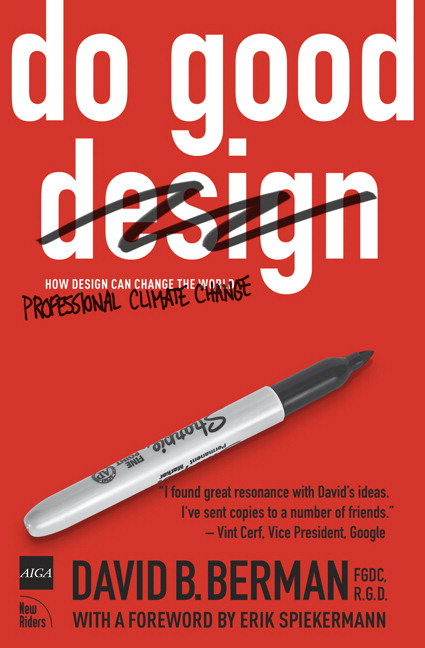 Do Good Design: How Design Can Change Our World