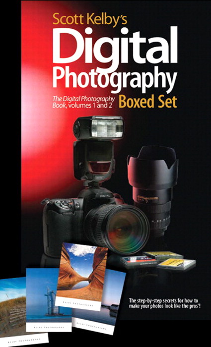Digital Photography Book Cover : Scott kelby s digital photography boxed set volumes and