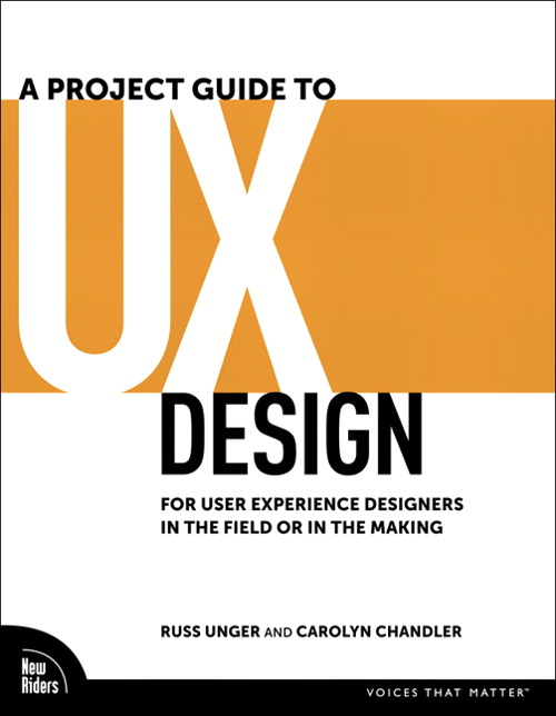 A Project Guide to UX Design (book cover)
