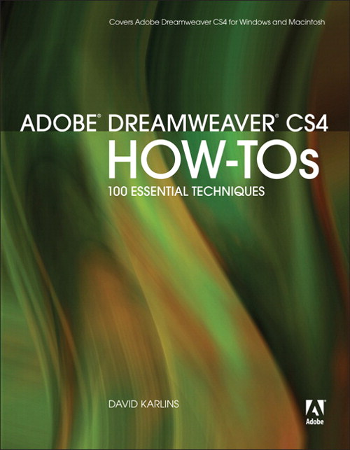 Adobe Dreamweaver CS4 How-Tos: 100 Essential Techniques, Adobe Reader