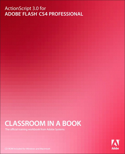 ActionScript 3.0 for Adobe Flash CS4 Professional Classroom in a Book, Adobe Reader