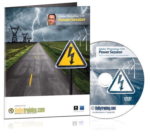 Adobe Photoshop CS4: Power Session DVD