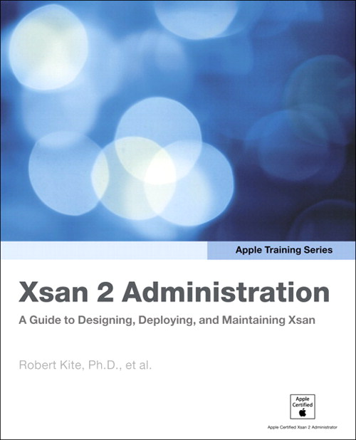 Apple Training Series: Xsan 2 Administration: A Guide to Designing, Deploying, and Maintaining Xsan, Adobe Reader