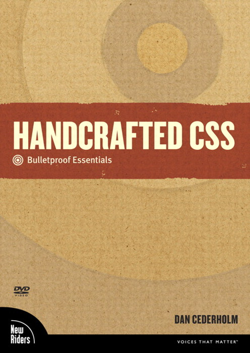 Handcrafted CSS: Bulletproof Essentials, DVD