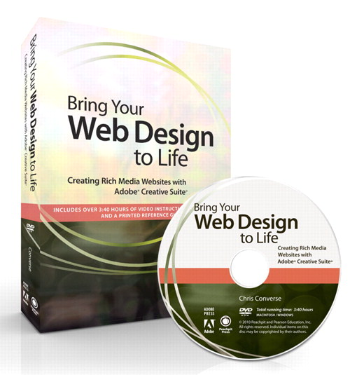 Bring Your Web Design to Life: Creating Rich Media Websites with Adobe Creative Suite