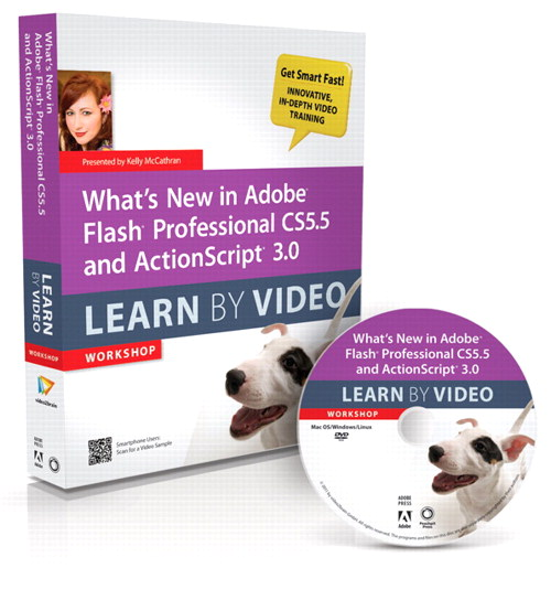 What's New in Adobe Flash Professional CS5.5 and ActionScript 3.0 Learn By Video