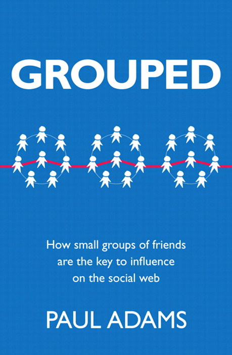 Grouped: How small groups of friends are the key to influence on the social web