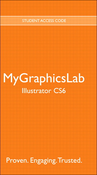 MyGraphicsLab -- Standalone Access Card -- for Adobe Illustrator CS6