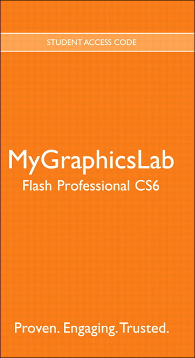 MyGraphicsLab -- Standalone Access Card -- for Adobe Flash Professional CS6