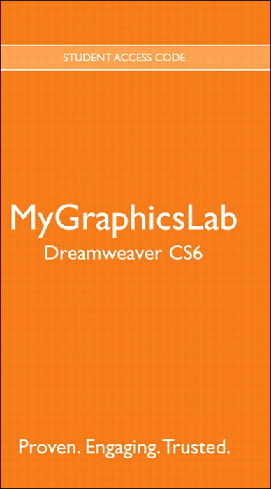 MyGraphicsLab -- Standalone Access Card -- for Adobe Dreamweaver CS6
