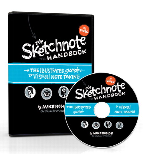 Sketchnote Handbook Video, The: the illustrated guide to visual note taking