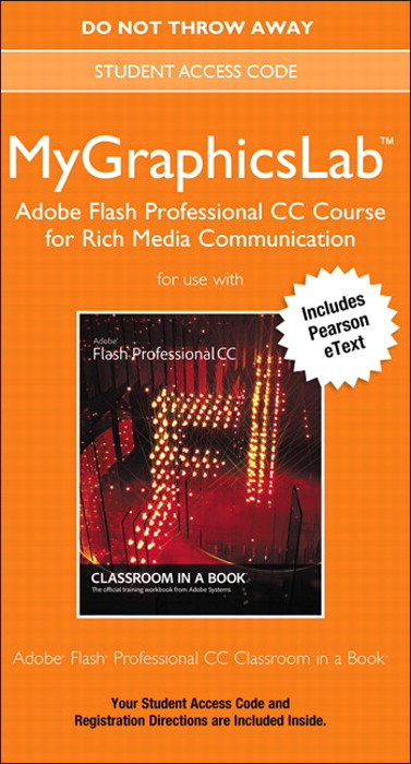 MyGraphicsLab Adobe Flash Professional CC Course for Interactive Media