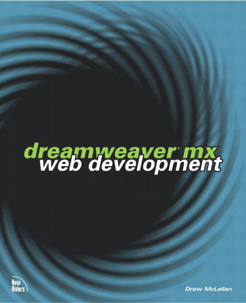 Dreamweaver MX Web Development