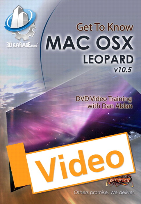 Get to Know Mac OS X Leopard, Streaming Video