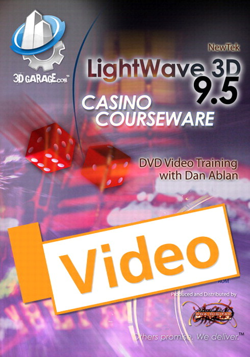 LightWave 3D, v9.6 Casino Courseware, Streaming Video