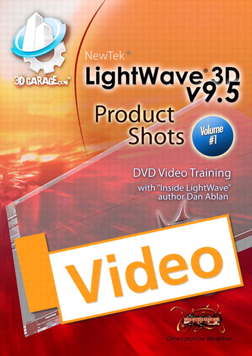 LightWave 3D, v9.6 Product Shots, Vol. 1, Streaming Video