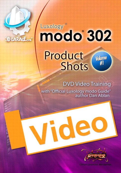 modo Product Shots, Vol. 1, Streaming Video