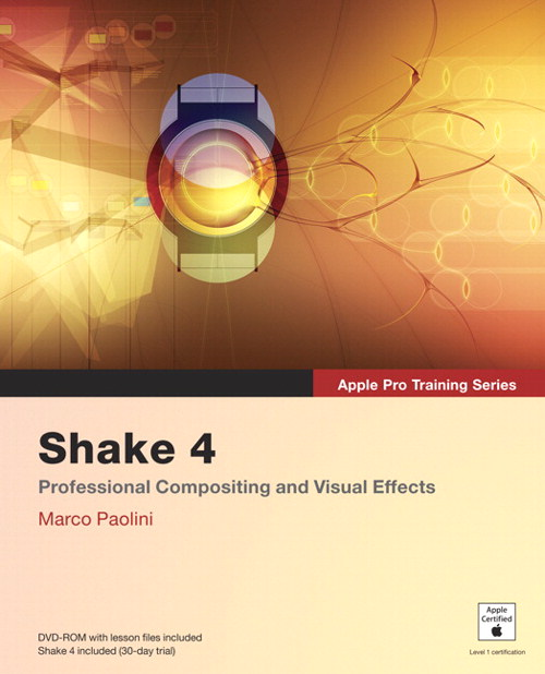 Apple Pro Training Series: Shake 4